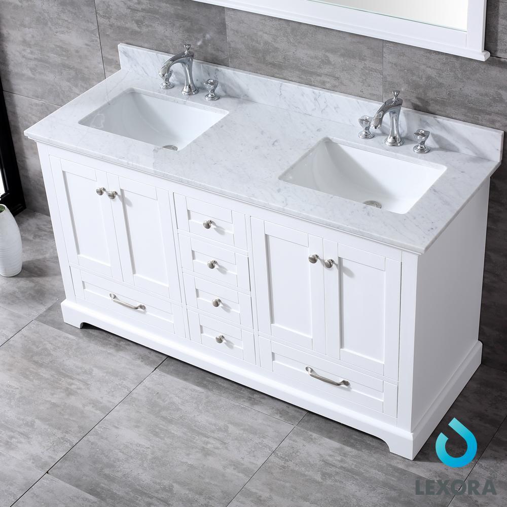 White Carrara Marble Top
