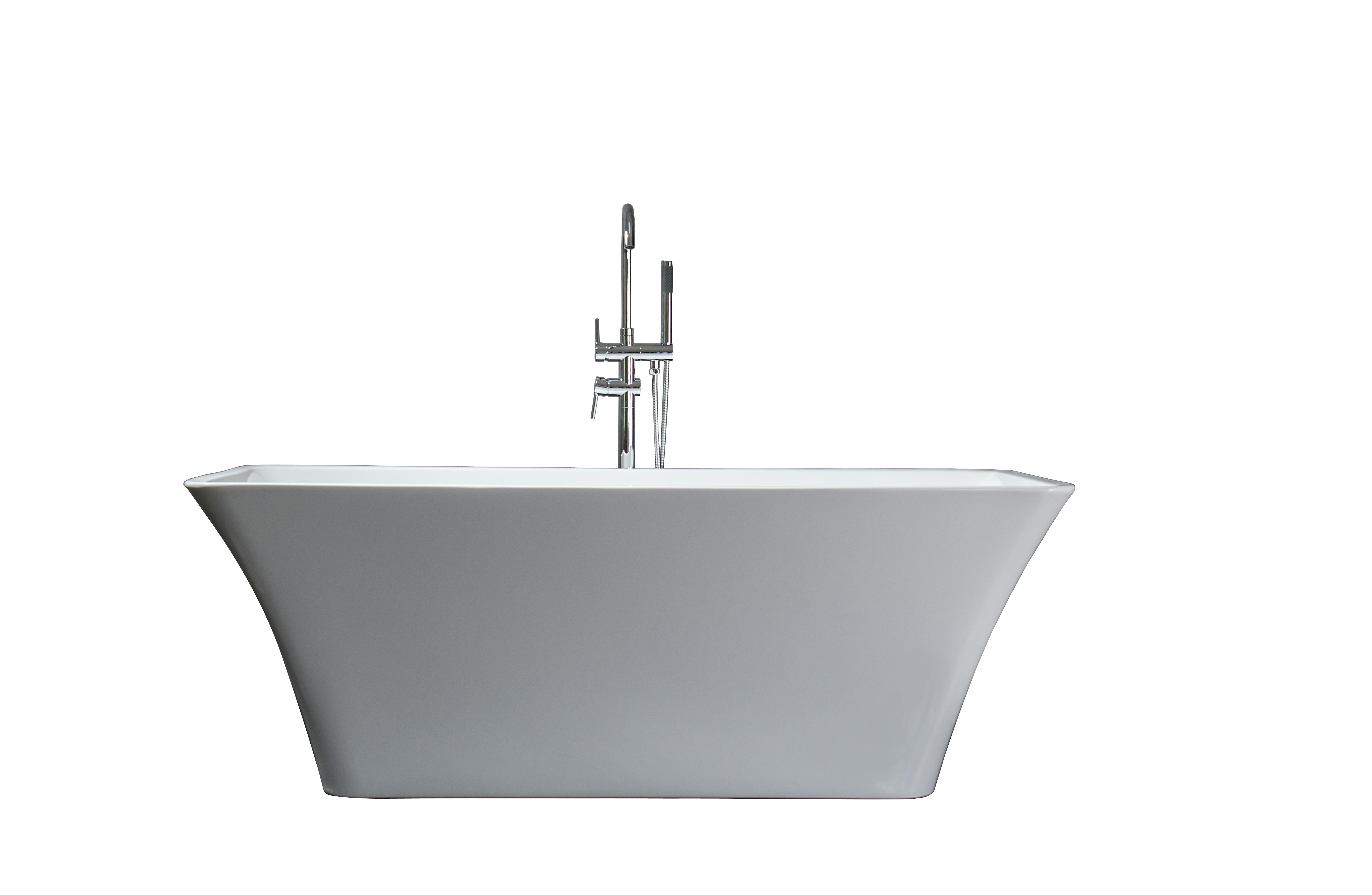 product bathtub kube standing free squadra bathtubs